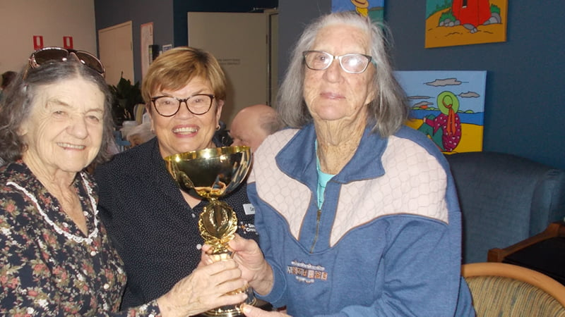 St Lawrence Residential Aged Care has a competitive spirit