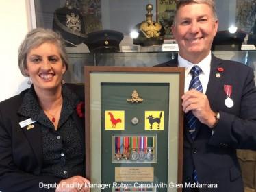 Harden war hero honoured