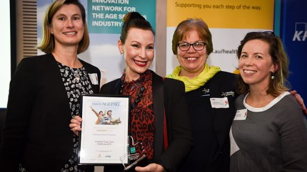 SCC wins award at the first innovAGEING National Awards for 'The 10K Project'