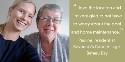 Loving life at Reynolds Court Retirement Village