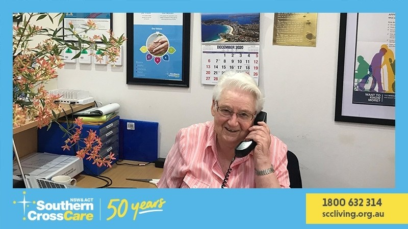Southern Cross Care is where the heart is for Sr Barbara