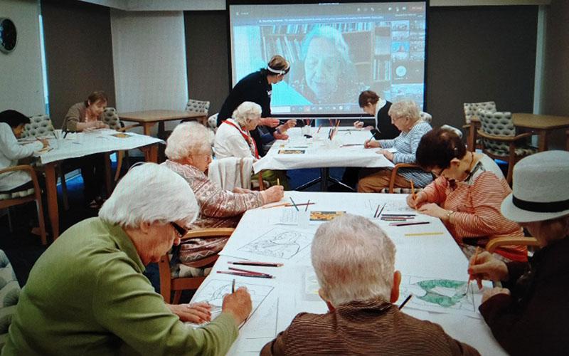 The benefits of virtual art classes