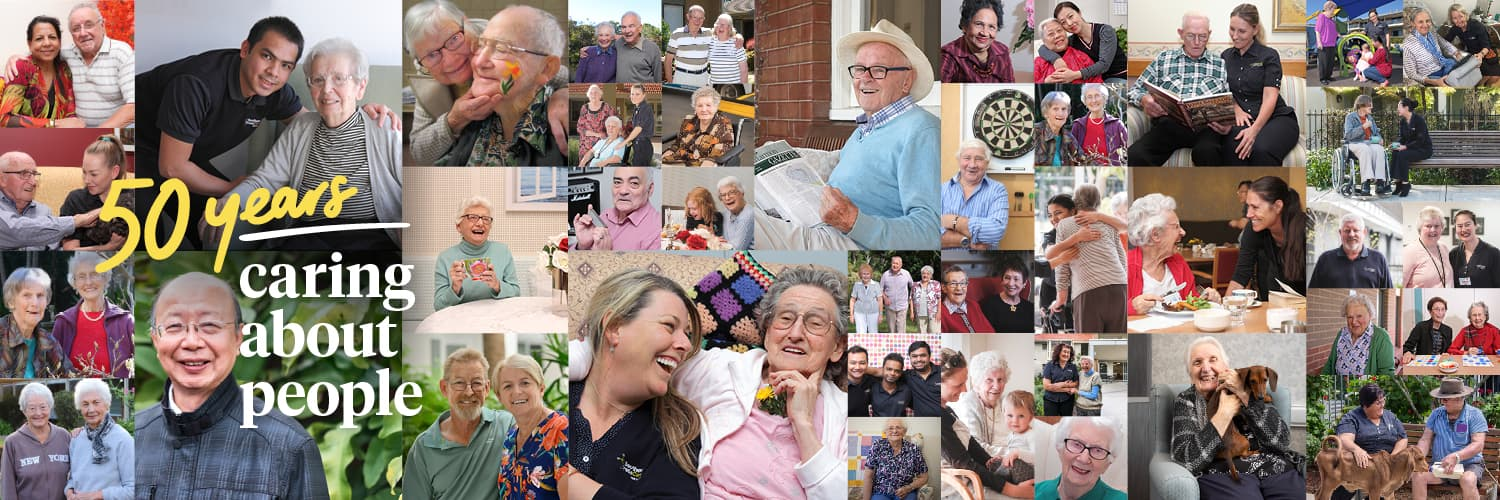 50 years of caring